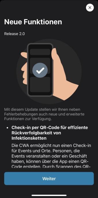 Corona Warn App Check Ins Per Qr Code