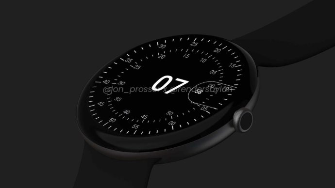 Google Pixel Watch Leak Dark1