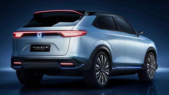 Honda Suv Elektro Prototyp