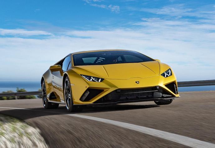 Lamborghini Huracan Evo Header