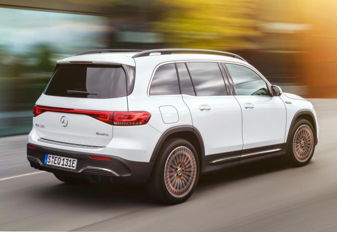 Mercedes Benz Eqb Heck