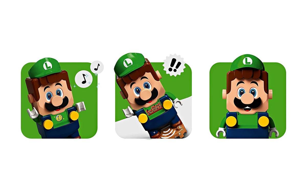 Nintendo Luigi Lego