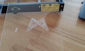 Ortur Aufero Cnc Demo Plexiglas Fail