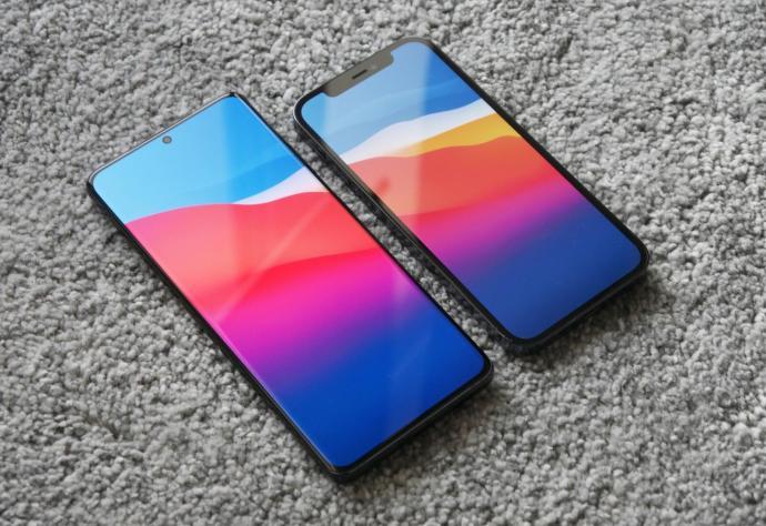 Smartphone Samsung Apple Header
