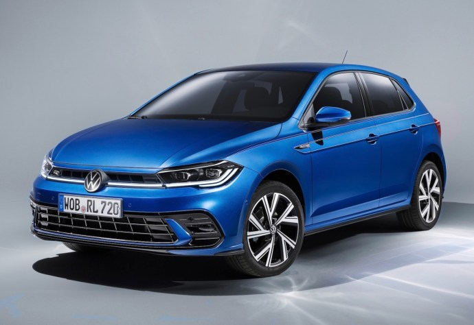 Vw Polo 2021 Front