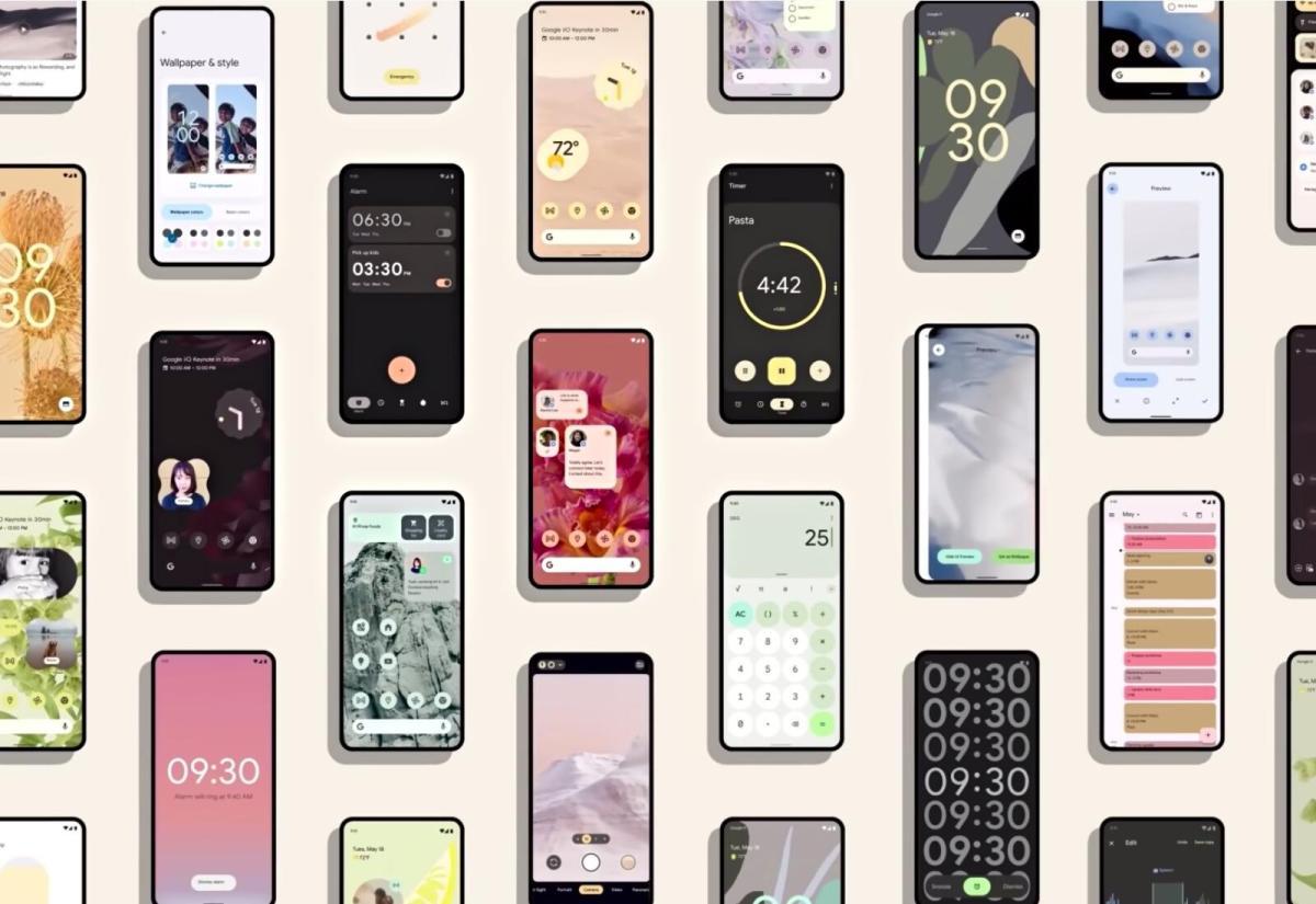 Android 12 Design Header