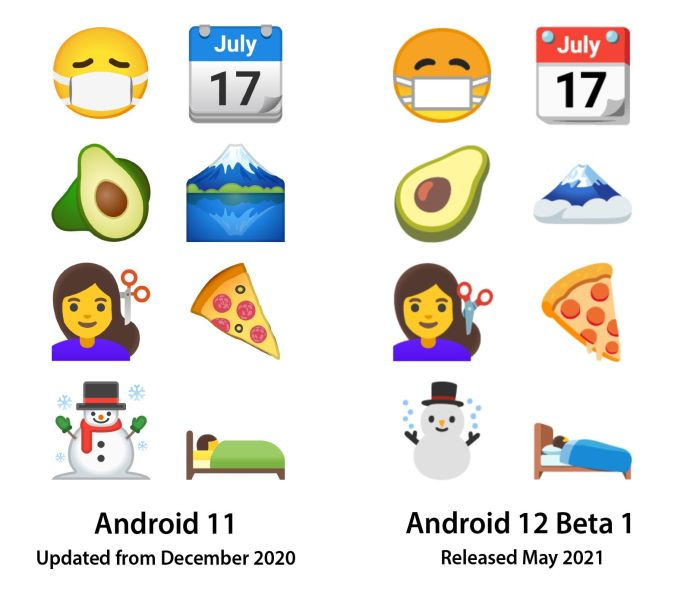 Android 12 Emoji Neu
