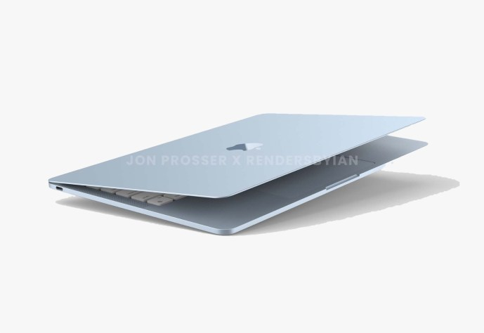 Apple Macbook Air 2021 Render Header