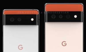 Google Pixel 6 Pro Kamera Render