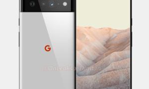 Google Pixel 6 Pro Leak Render