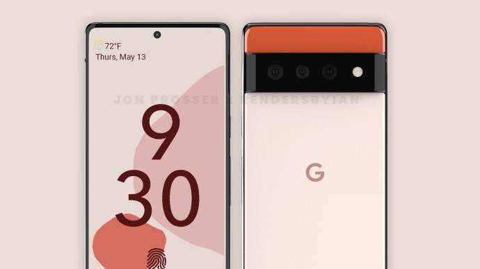 Google Pixel 6 Pro Render5