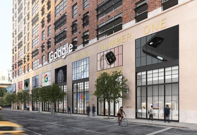 Google Store Header