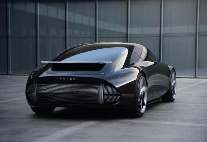 Hyundai Ioniq 6 Konzept Back