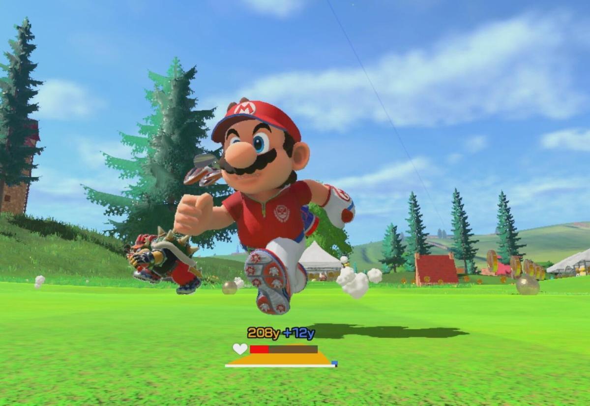Mario Golf Super Rush Header