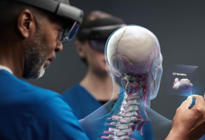 Microsoft Hololens 2 Medizin