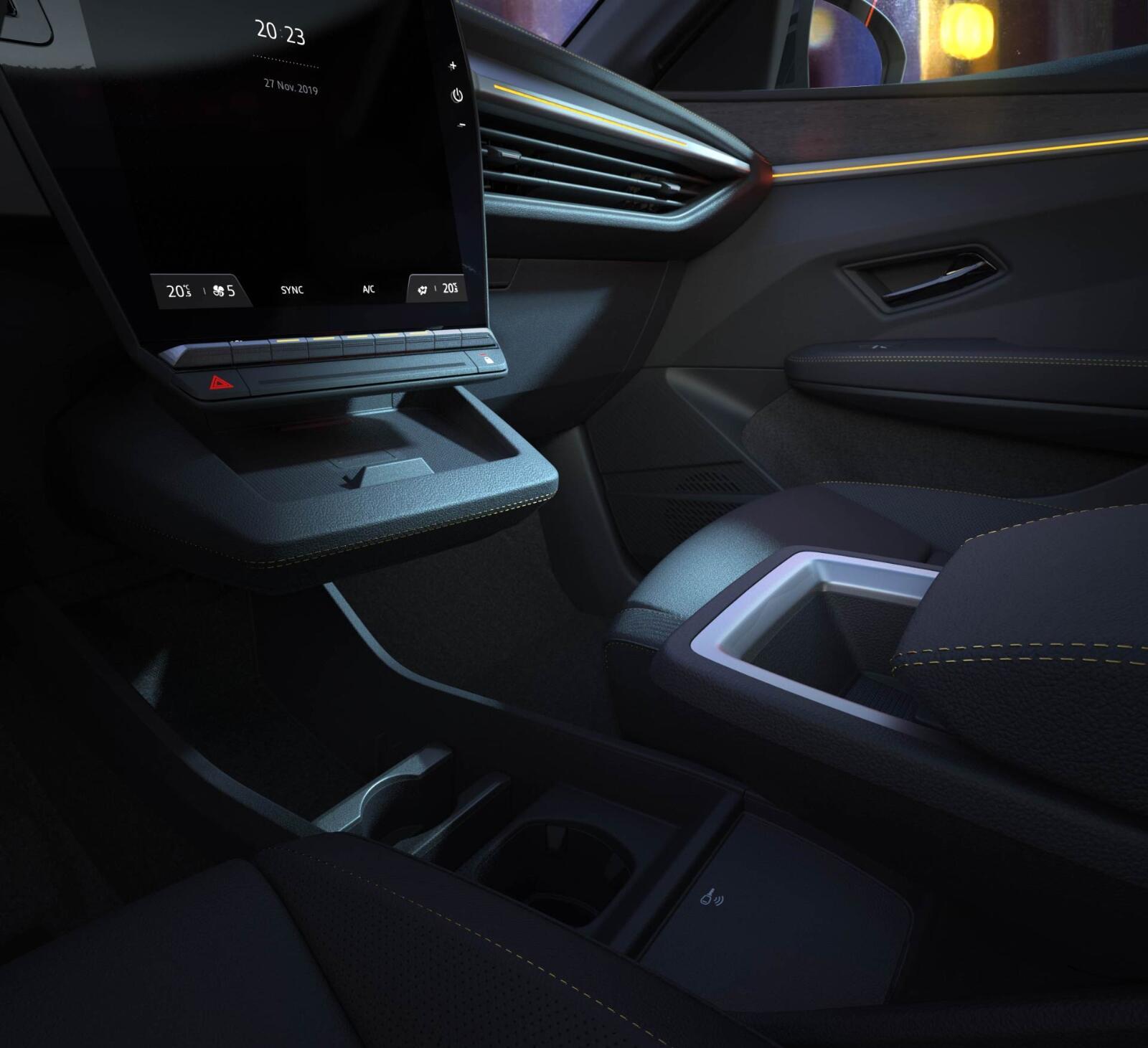 Renault Megane Elektro Innen
