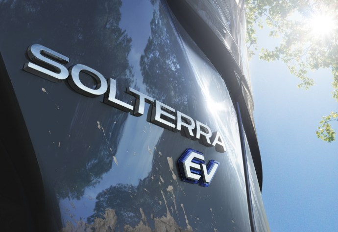 Subaru Solterra Ev Logo