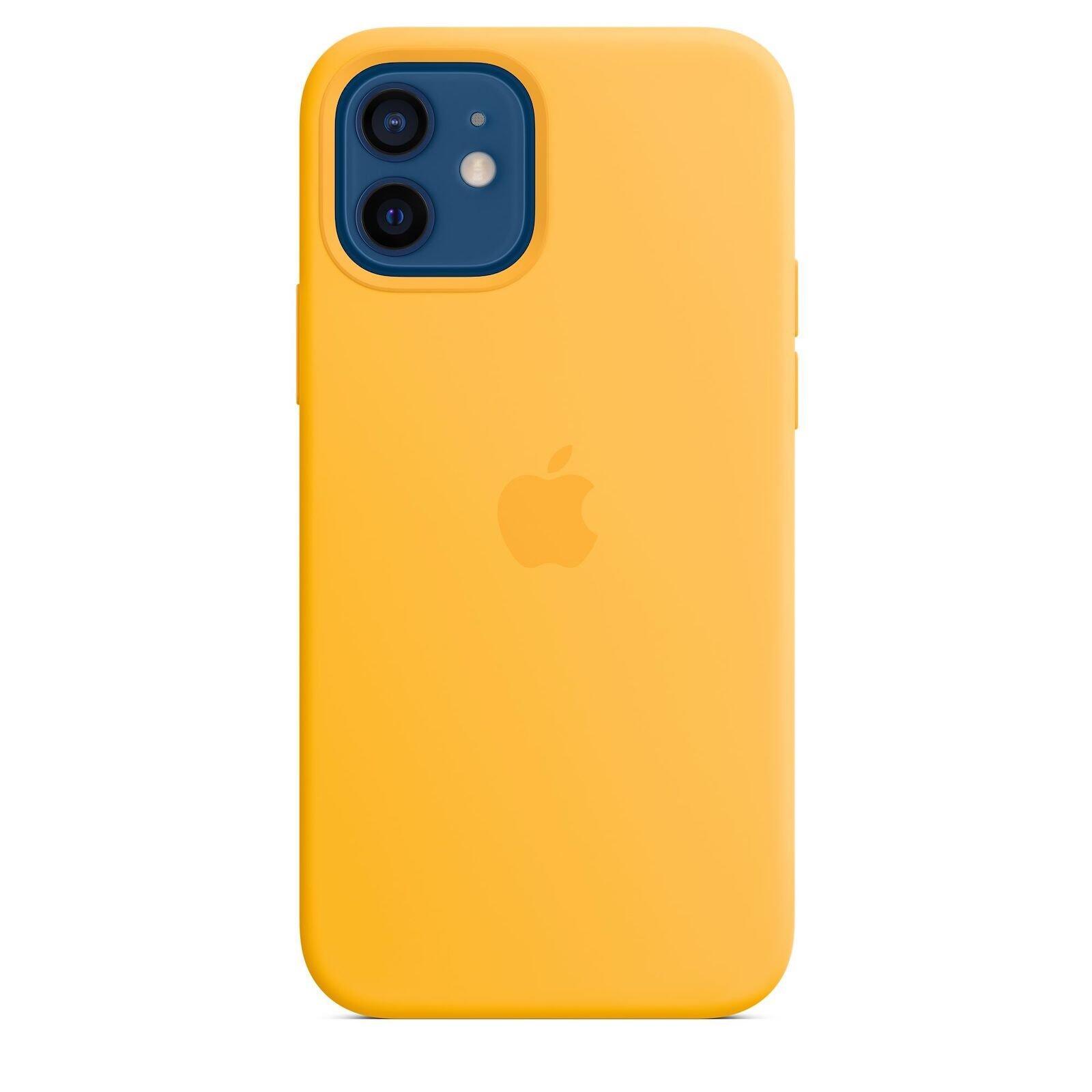 Apple Iphone 12 Silikon Case Sonnenblume
