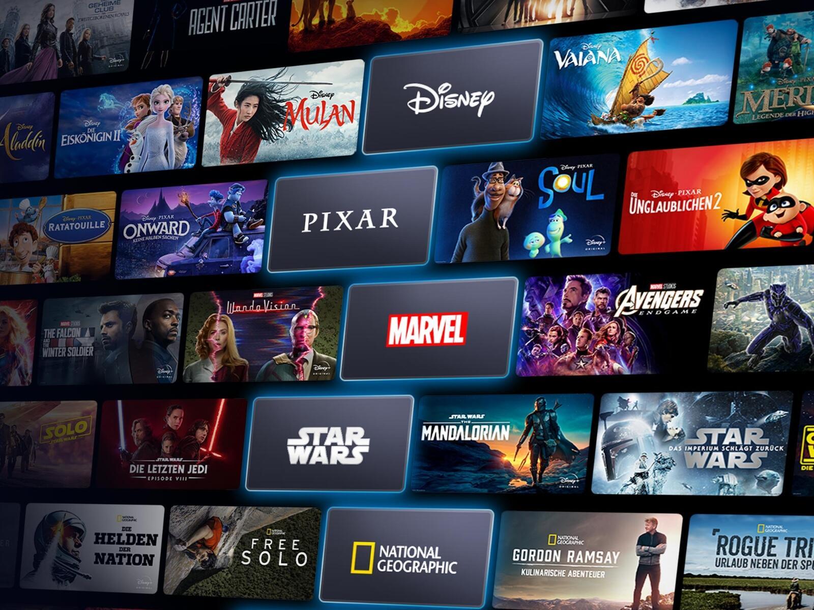 Disney Plus 2021 Header