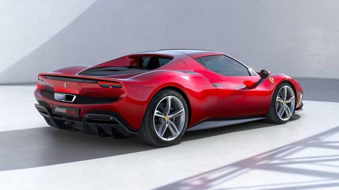 Ferrari 296 Gtb Heck