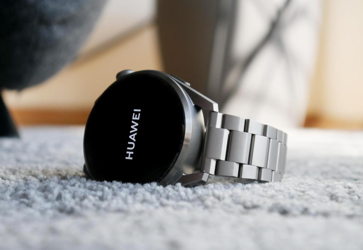 Huawei Watch 3 Pro Huawei Logo