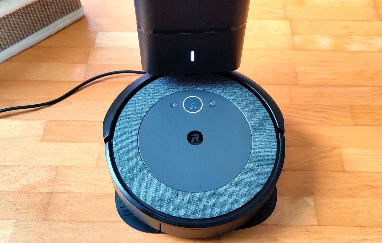 Irobot Roomba I3 Plus Ladevorgang