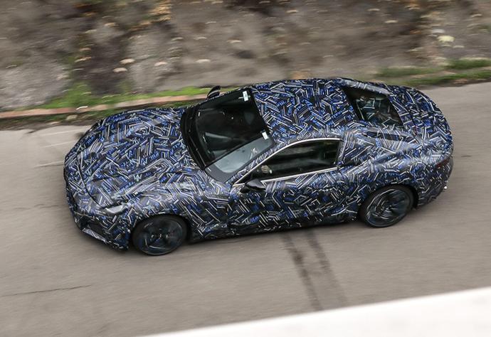 Maserati Elektro Granturismo Top
