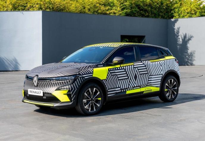 Renault Megane E Tech Electric Prototyp Header