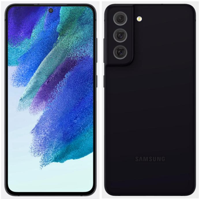Samsung Galaxy S21 Fe Leak Schwarz