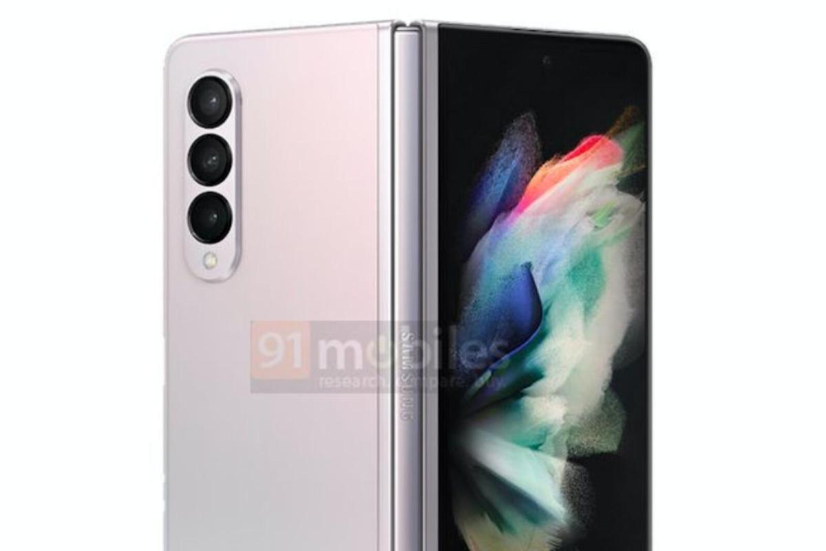 Samsung Galaxy Z Fold 3 Farbe