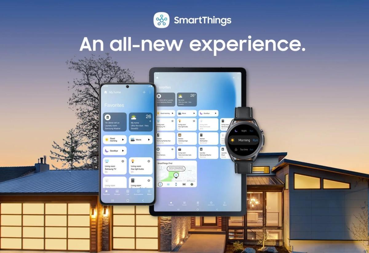 Samsung spendiert SmartThings-App ein großes Update