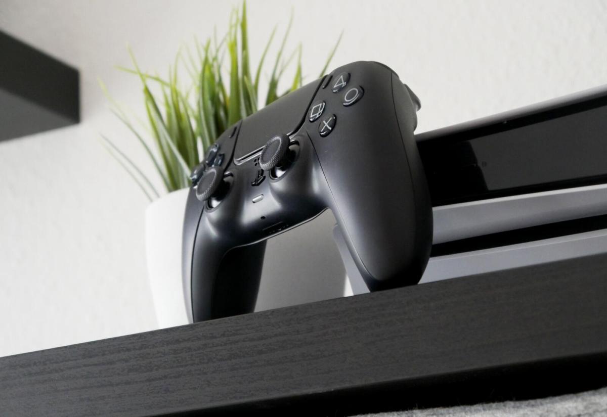 Sony Playstation 5 Dualsense Controller Schwarz