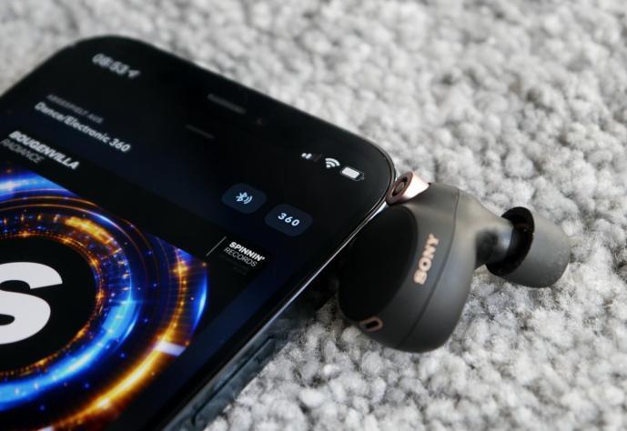 Sony Wf 1000xm4 360 Audio