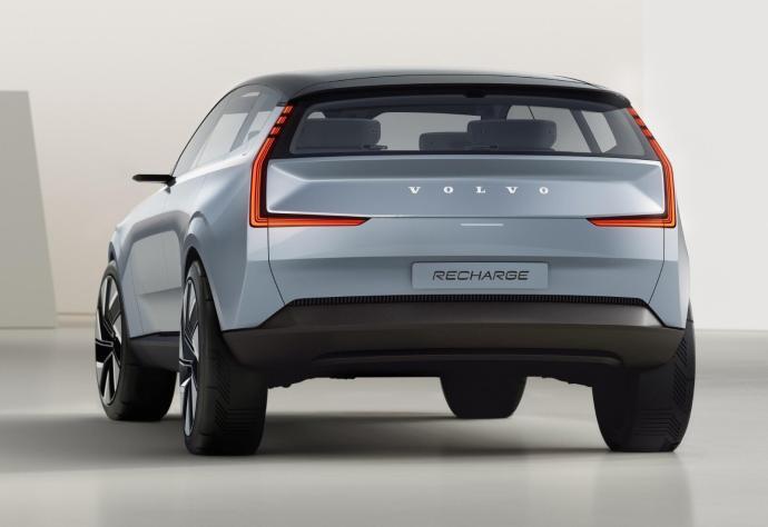Volvo Concept Recharge Heck