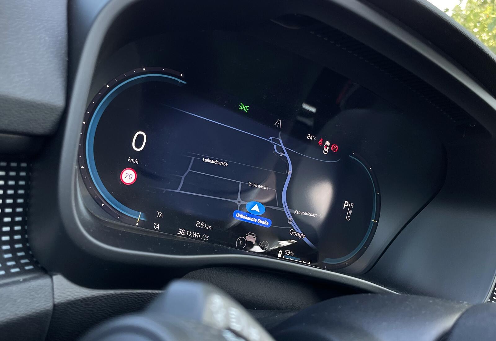 Volvo Xc40 Recharge Pure Electric Display Lenkrad