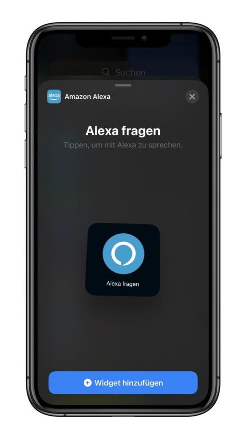 Alexa Ios Widget