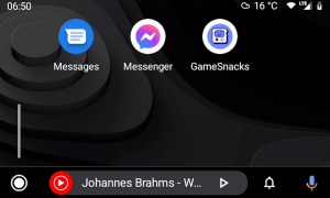 Android Auto Game Snacks