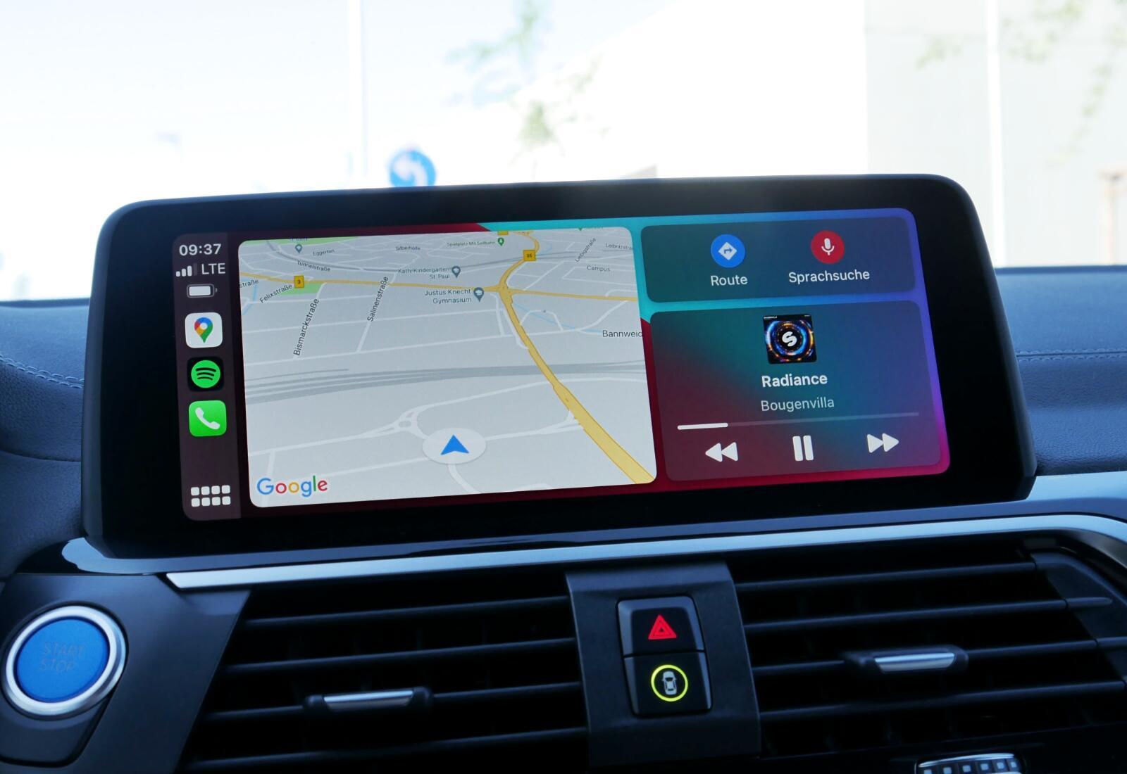 Apple Carplay Bmw Homescreen