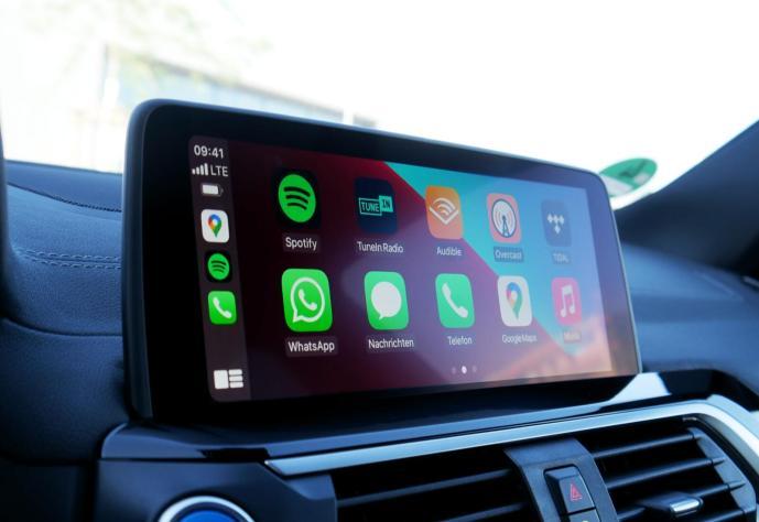 Apple Carplay Start Header