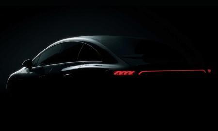 Mercedes Benz Eqe Teaser
