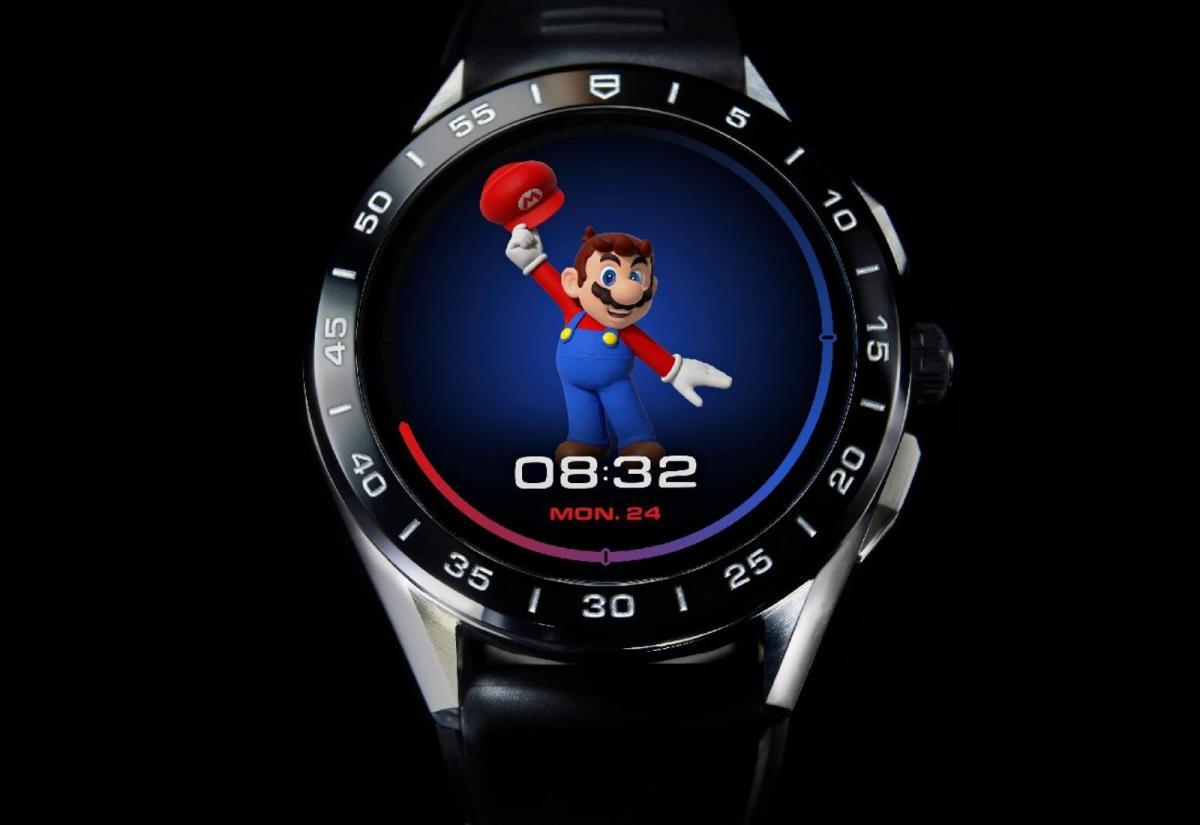 Tag Heuer Wear Os Super Mario Header