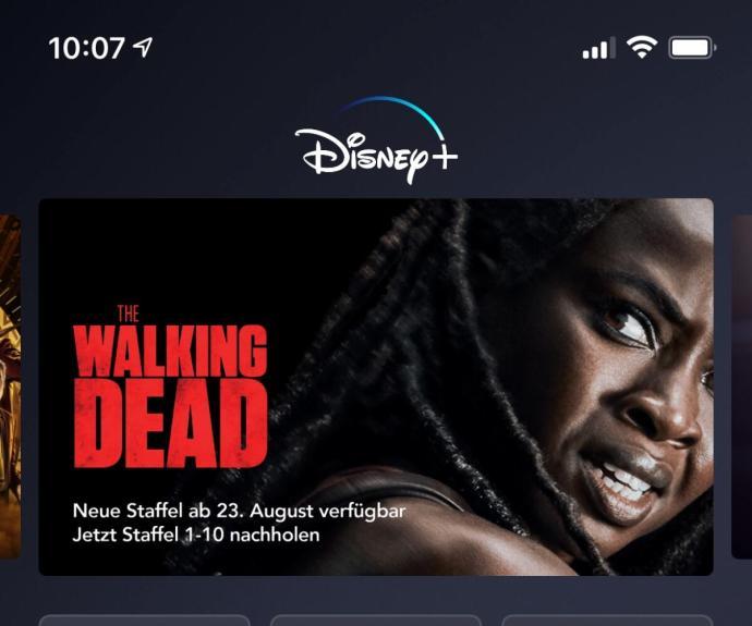 Walking Dead Disney