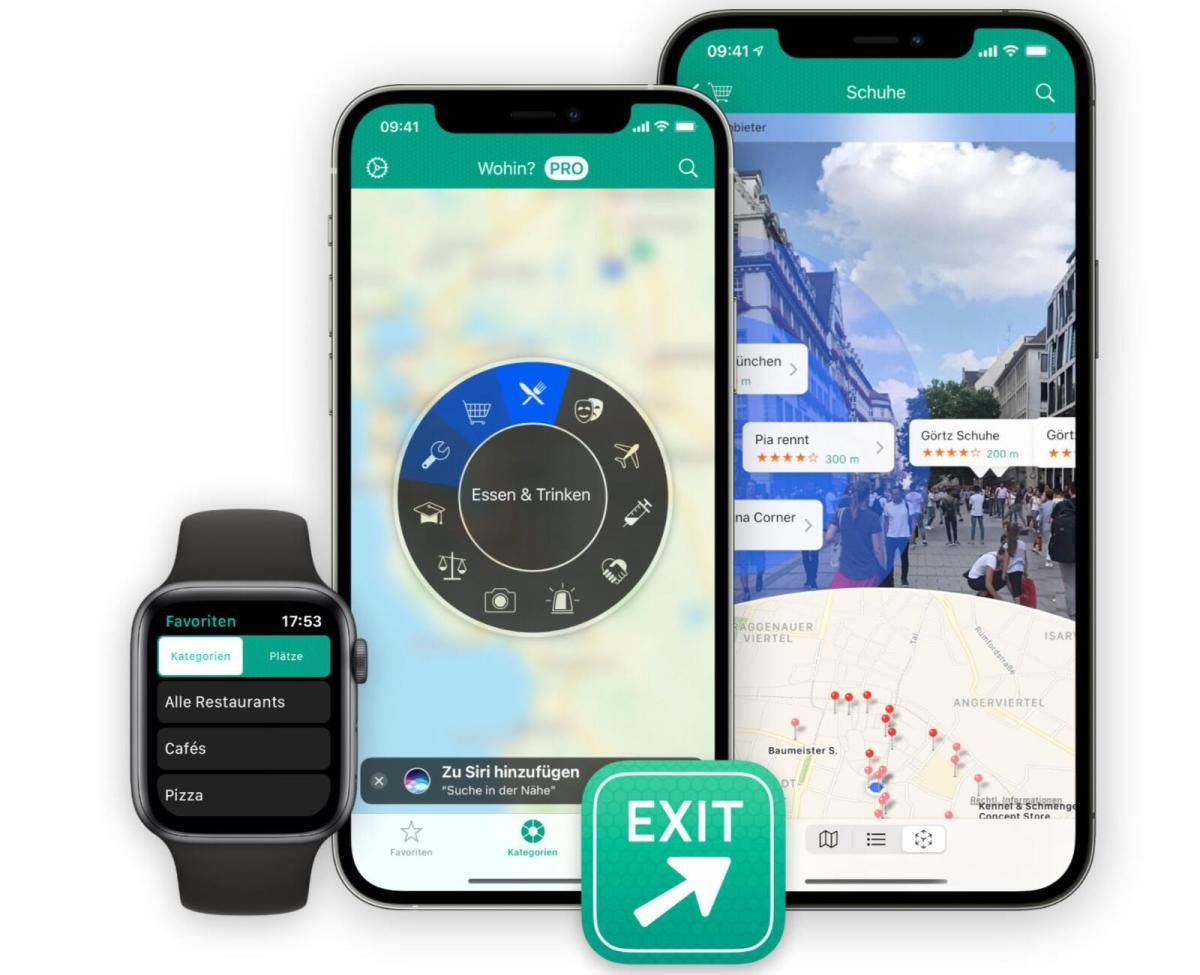 Wohin 11 App