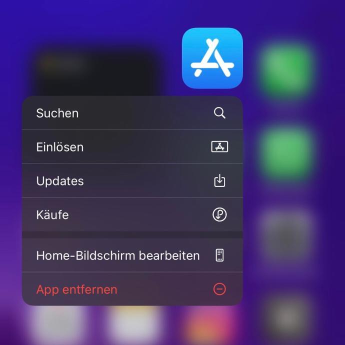 App Store Shortcut