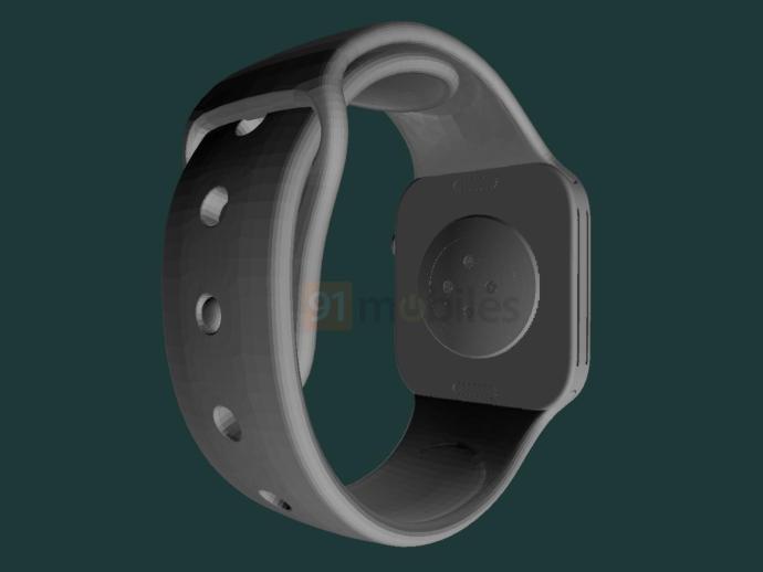 Apple Watch Series 7 Cad Leak Back