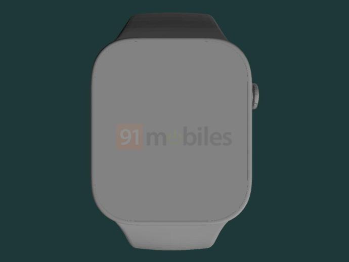 Apple Watch Series 7 Cad Leak Front