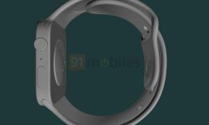 Apple Watch Series 7 Cad Leak Rechts