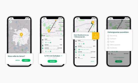 Clevershuttle Buchungsprozess Neue App In Leipzig 1
