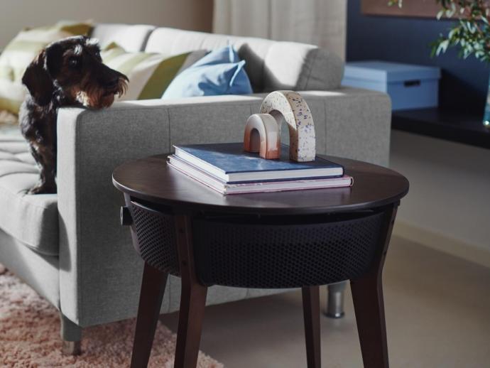 Ikea Starkvind Tisch Dunkel