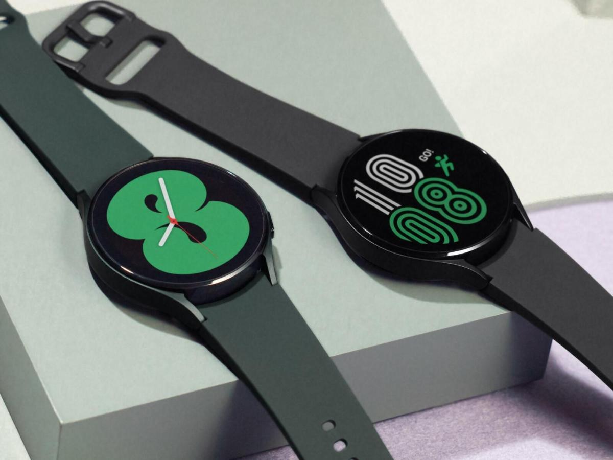 Samsung Galaxy Watch 4 Bunt Header
